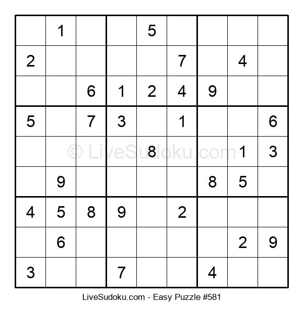 Beginners Puzzle #581