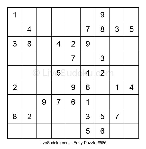 Beginners Puzzle #586