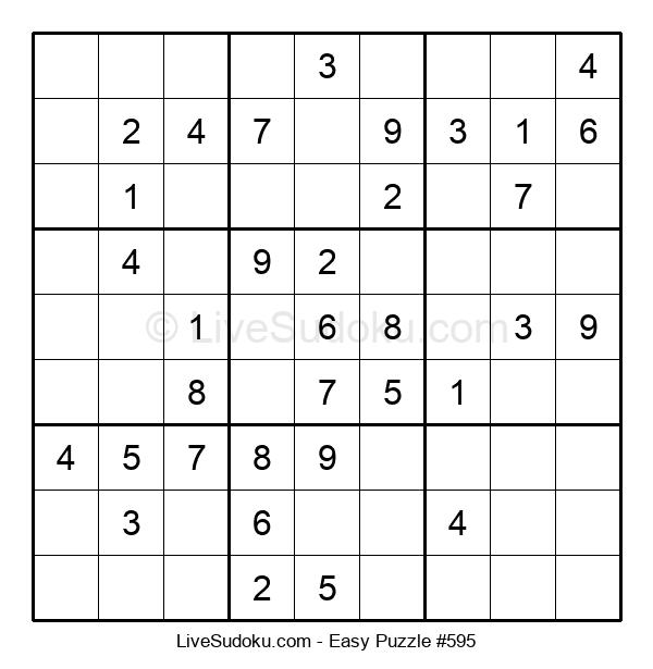 Beginners Puzzle #595