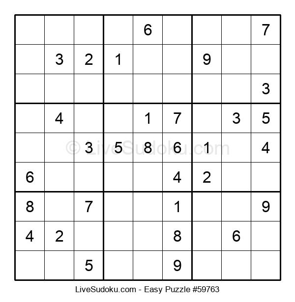 Beginners Puzzle #59763