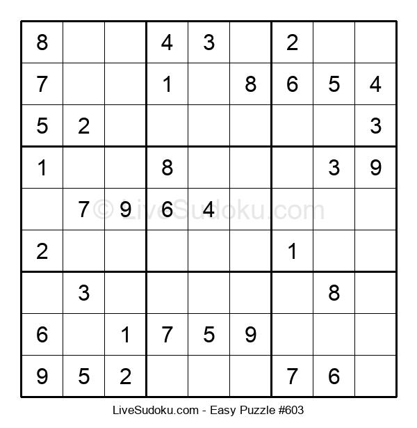 Beginners Puzzle #603