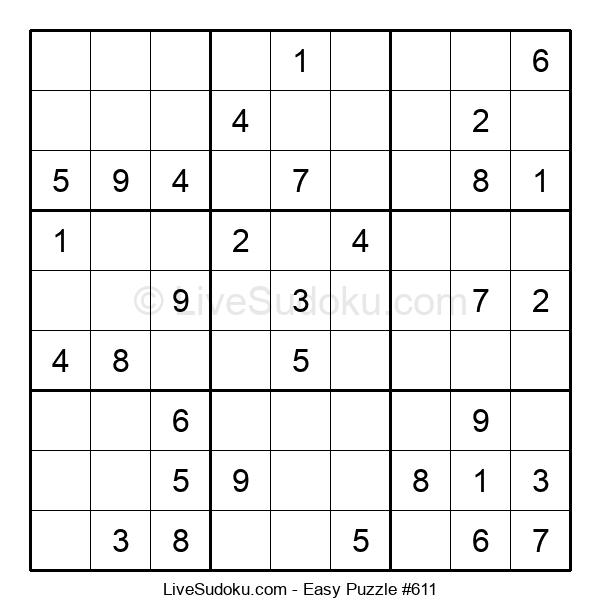 Beginners Puzzle #611