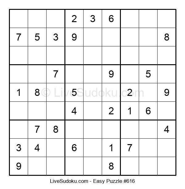 Beginners Puzzle #616