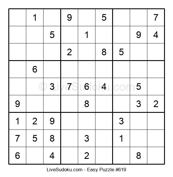 Beginners Puzzle #619