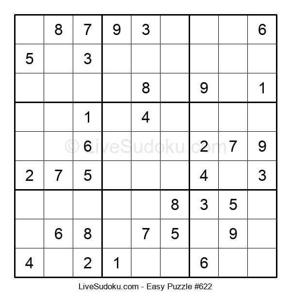 Beginners Puzzle #622