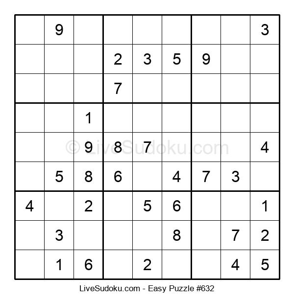 Beginners Puzzle #632