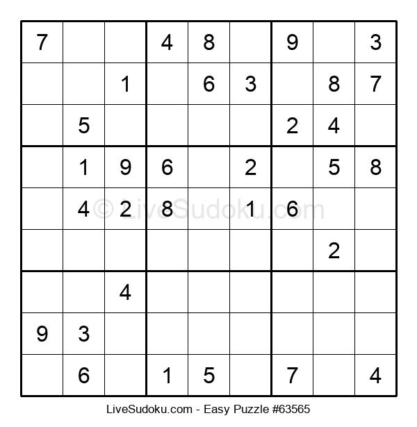 Beginners Puzzle #63565