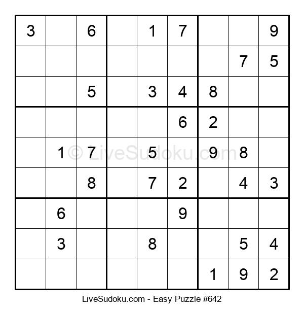 Beginners Puzzle #642