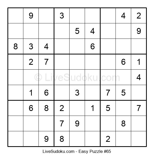 Beginners Puzzle #65