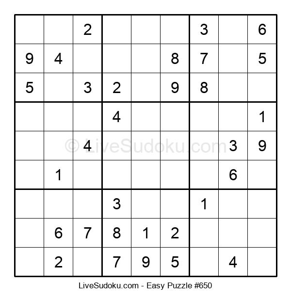 Beginners Puzzle #650