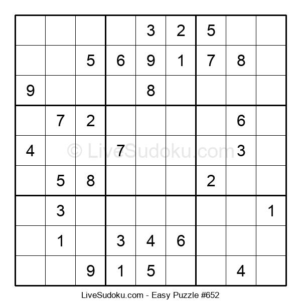 Beginners Puzzle #652