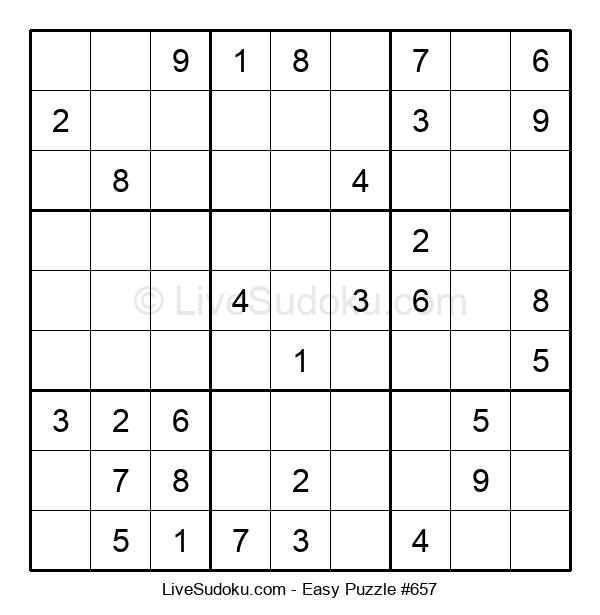 Beginners Puzzle #657