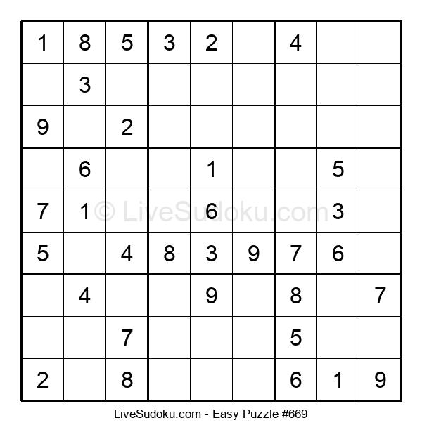 Beginners Puzzle #669