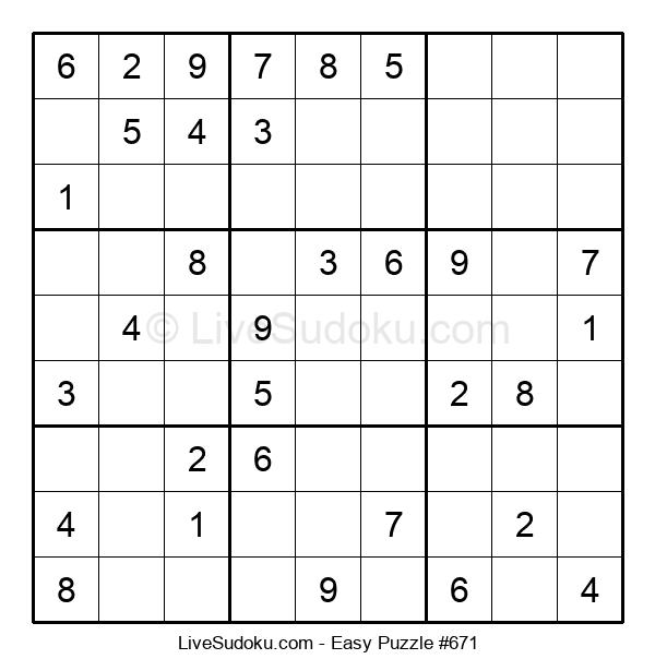 Beginners Puzzle #671