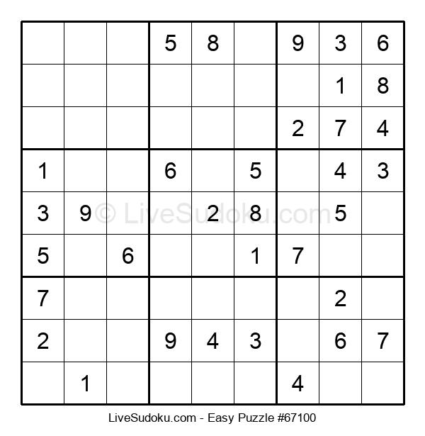 Beginners Puzzle #67100