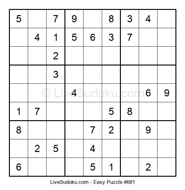Beginners Puzzle #681