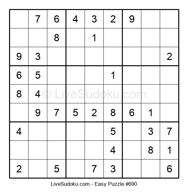Beginners Puzzle #690