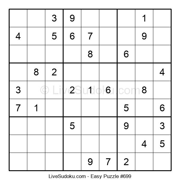 Beginners Puzzle #699