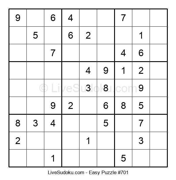 Beginners Puzzle #701