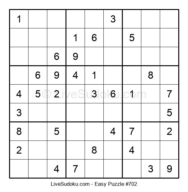 Beginners Puzzle #702
