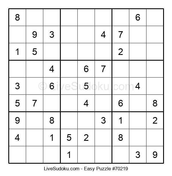 Beginners Puzzle #70219