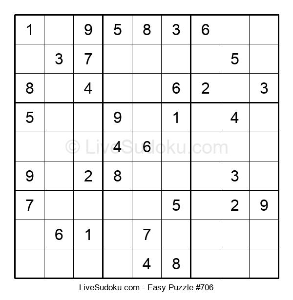 Beginners Puzzle #706