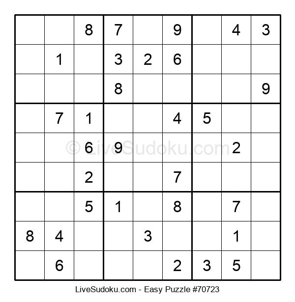 Beginners Puzzle #70723