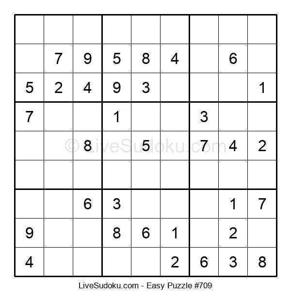 Beginners Puzzle #709