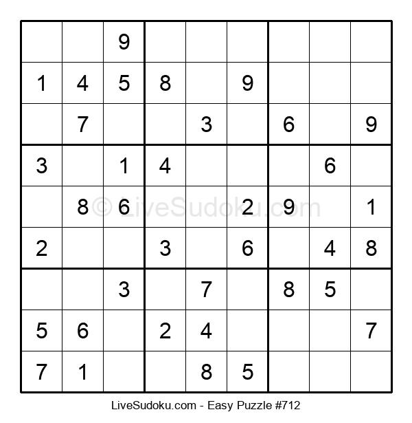 Beginners Puzzle #712