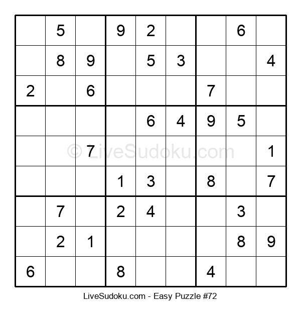 Beginners Puzzle #72