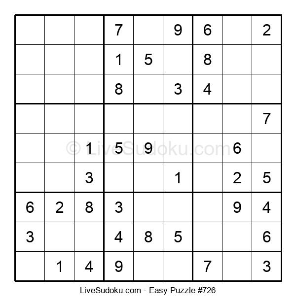 Beginners Puzzle #726