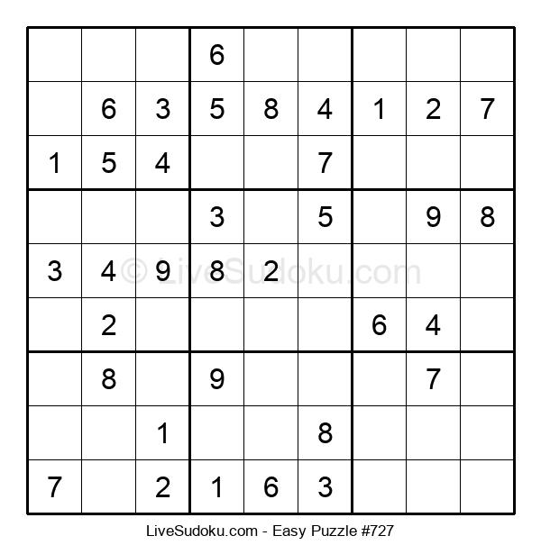 Beginners Puzzle #727