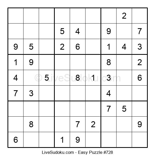 Beginners Puzzle #728