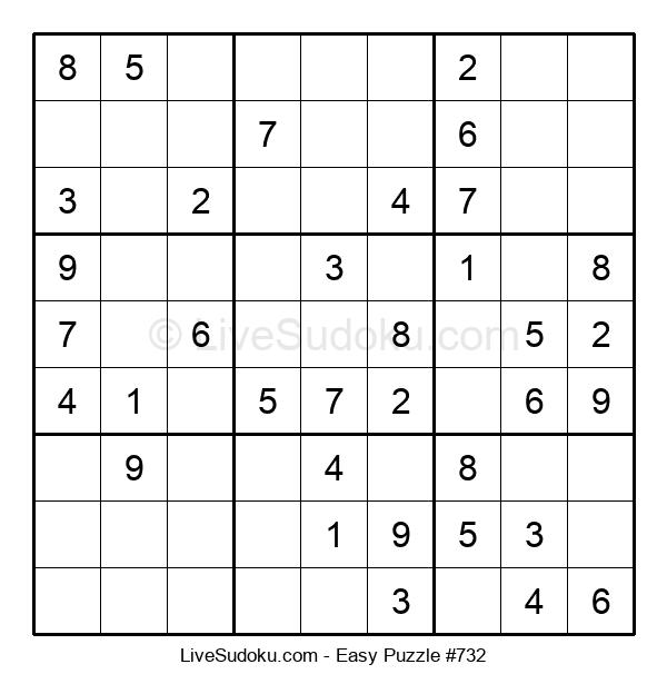 Beginners Puzzle #732