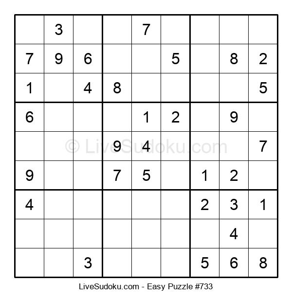 Beginners Puzzle #733