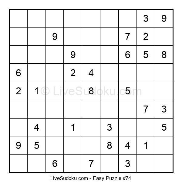 Beginners Puzzle #74
