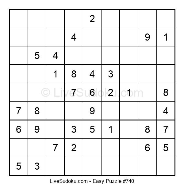 Beginners Puzzle #740