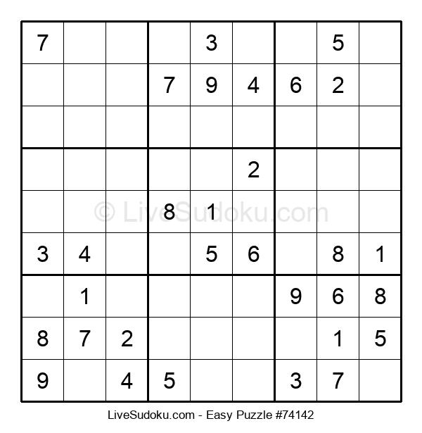 Beginners Puzzle #74142