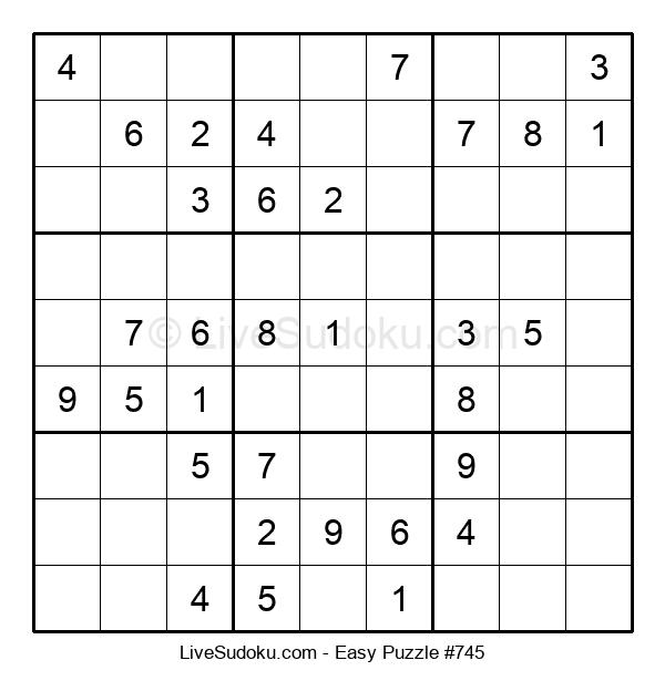 Beginners Puzzle #745