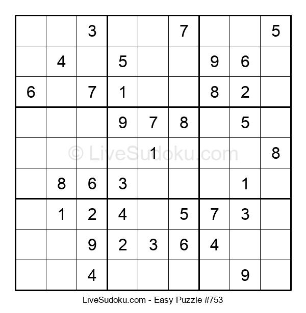 Beginners Puzzle #753