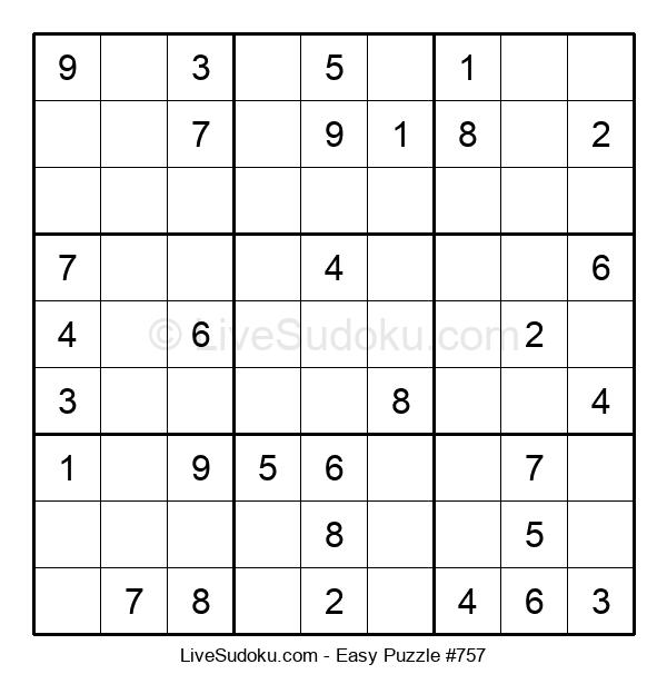 Beginners Puzzle #757