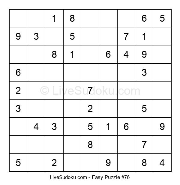 Beginners Puzzle #76