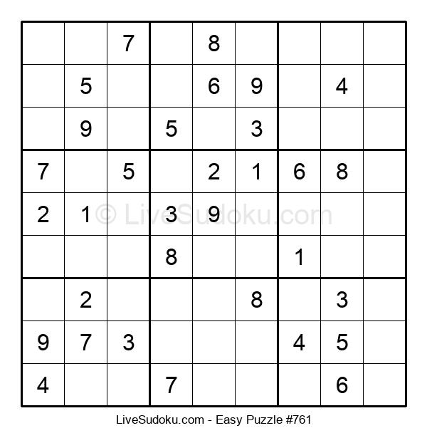 Beginners Puzzle #761