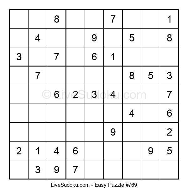 Beginners Puzzle #769