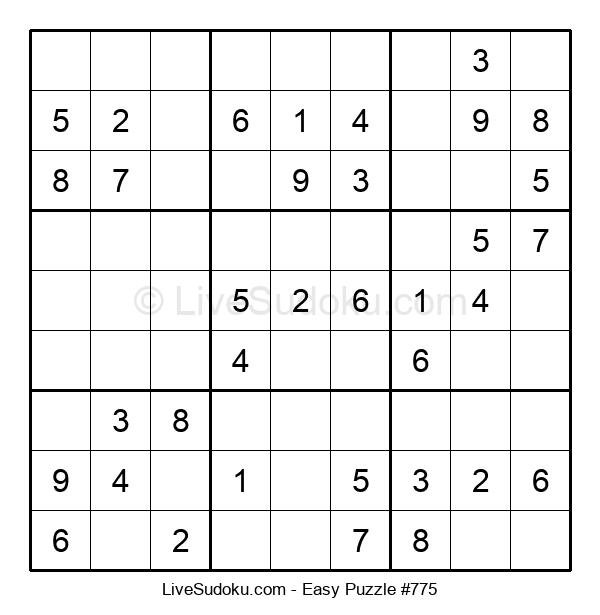 Beginners Puzzle #775
