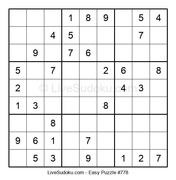 Beginners Puzzle #778