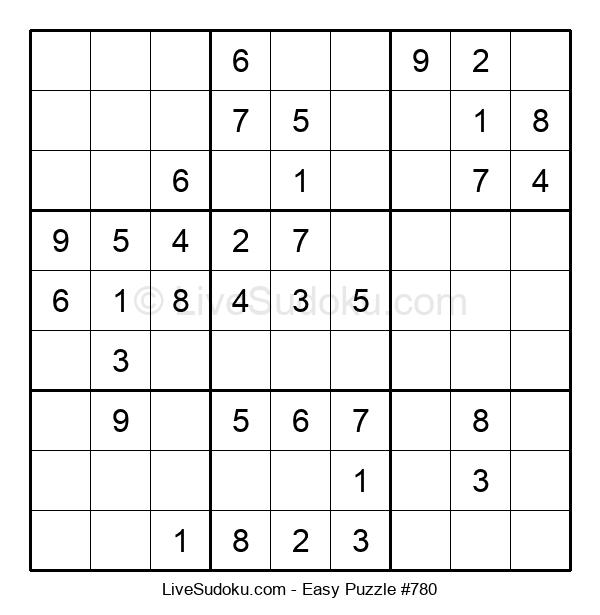 Beginners Puzzle #780
