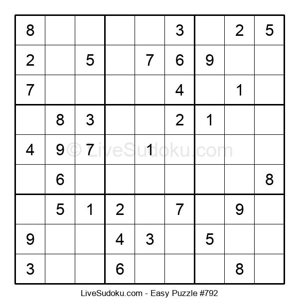Beginners Puzzle #792