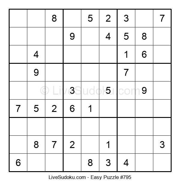 Beginners Puzzle #795