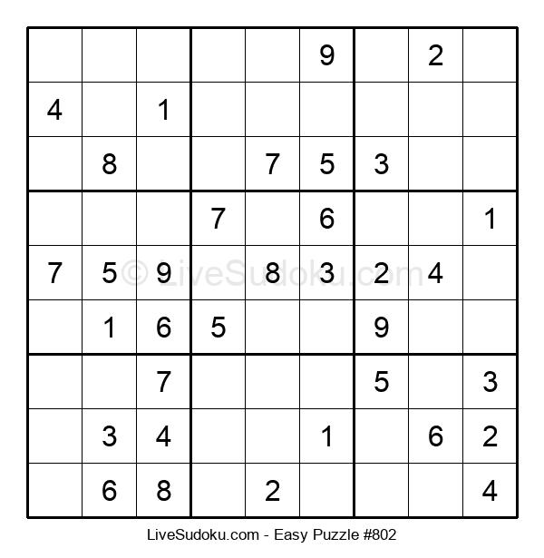 Beginners Puzzle #802